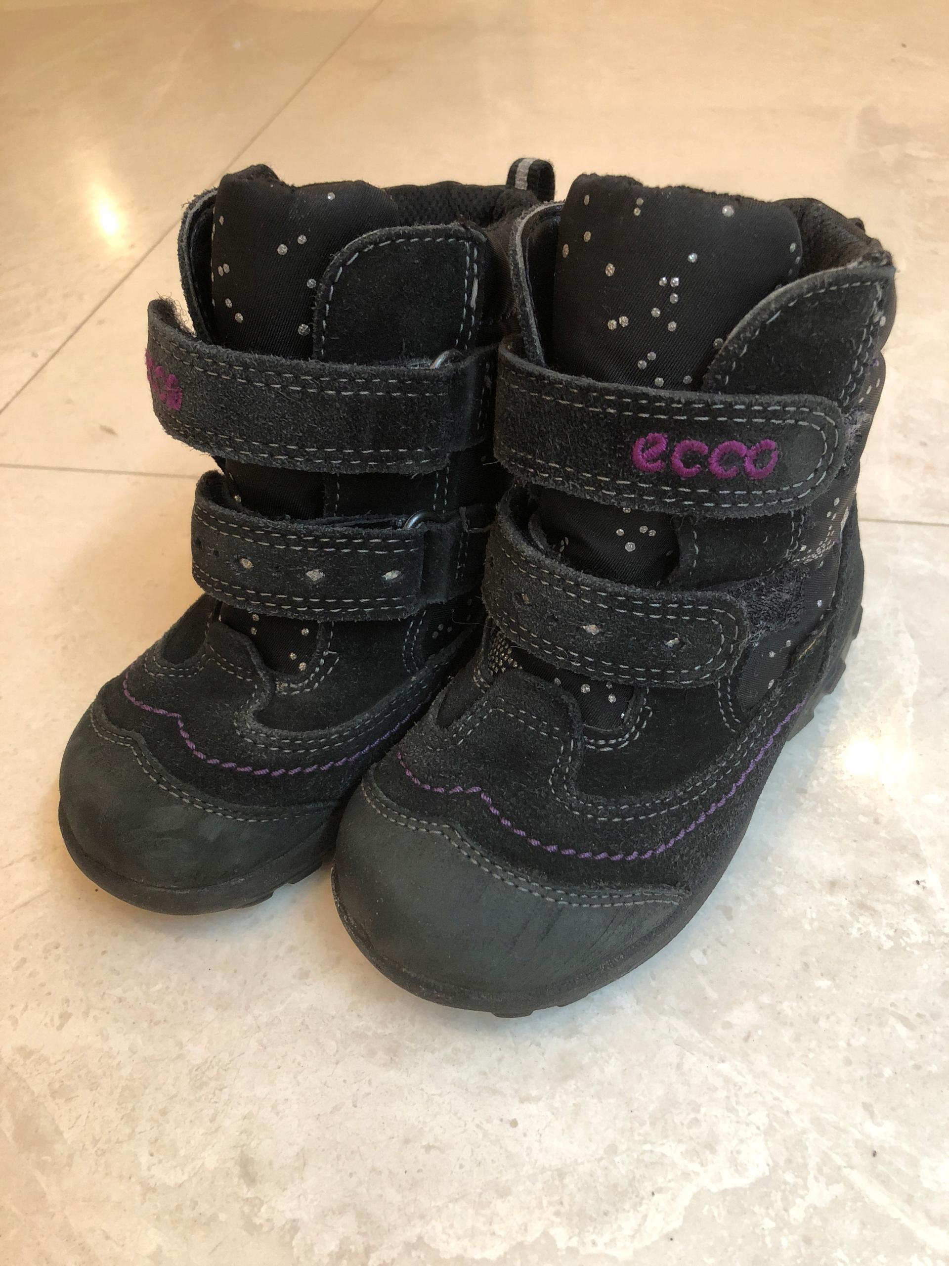 534ec040 Buty Ecco roz. 23 zimowe dla dziewczynki śniegowce - 7700548217 ...