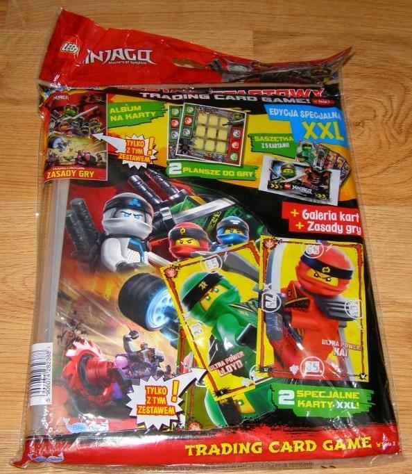Wybitny Karty Lego NINJAGO - seria 3 -ZESTAW STARTOWY XXL - 7471315690 IO99