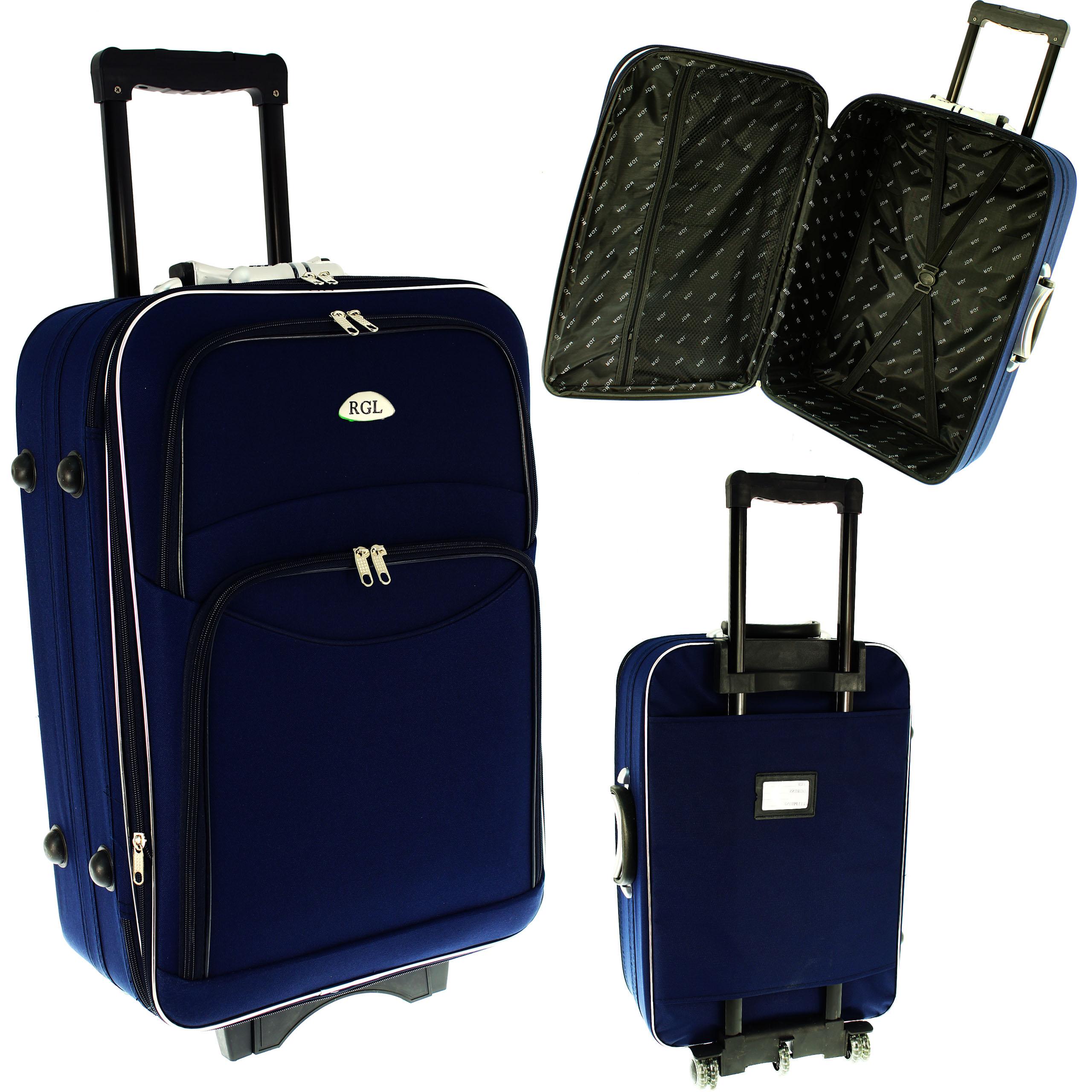 42a4b3ee041e5 773 RGL Walizka podróżna średnia na kółkach bagaż - 6820865598 ...
