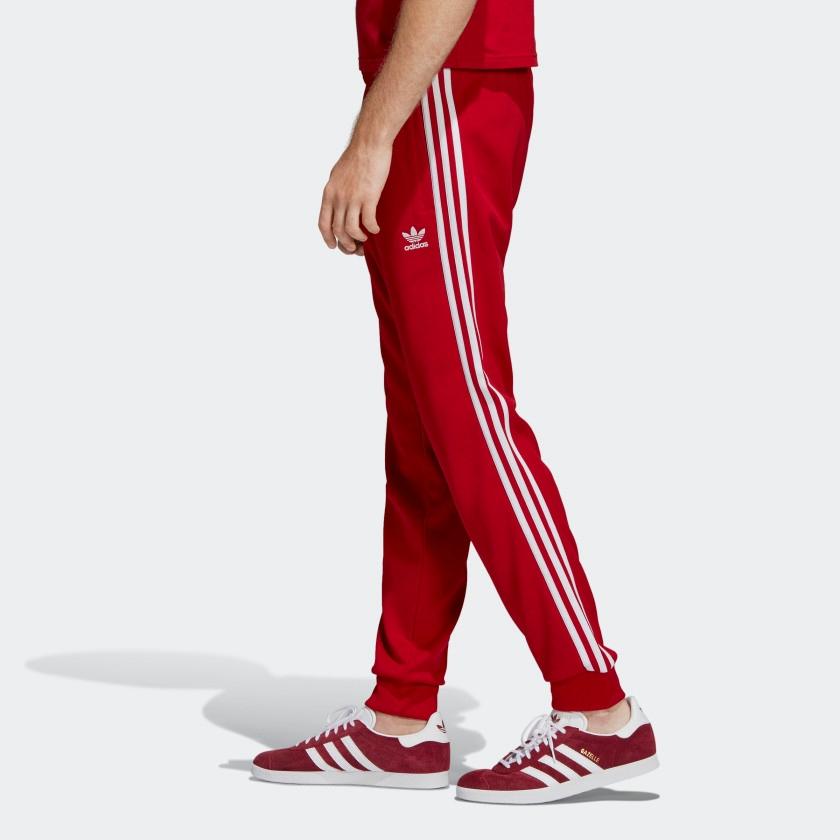 Hurt kupować nowe amazonka Spodnie Adidas SST TP DV1534 czerwone roz L - 7713981443 ...