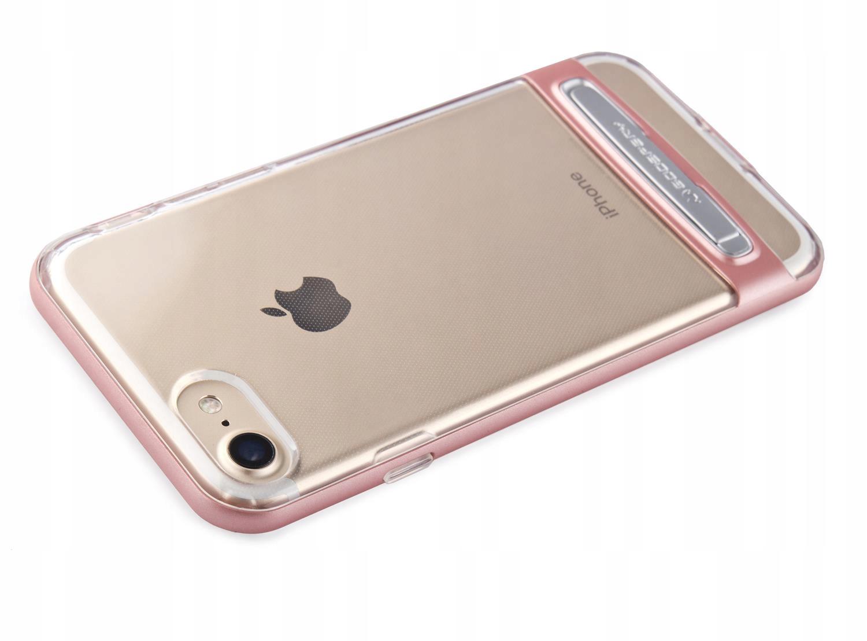 0c230d96c1a84b Różowy Pokrowiec futerał silikon case iPhone 8 4.7 - 7262037622 ...