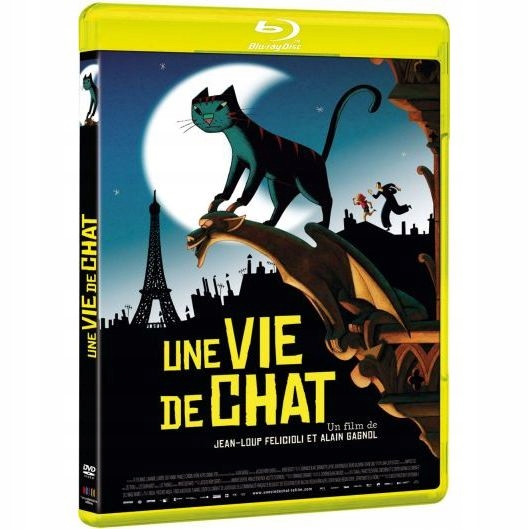 BLU-RAY Animation - Une Vie De Chat By Jean-Loup F