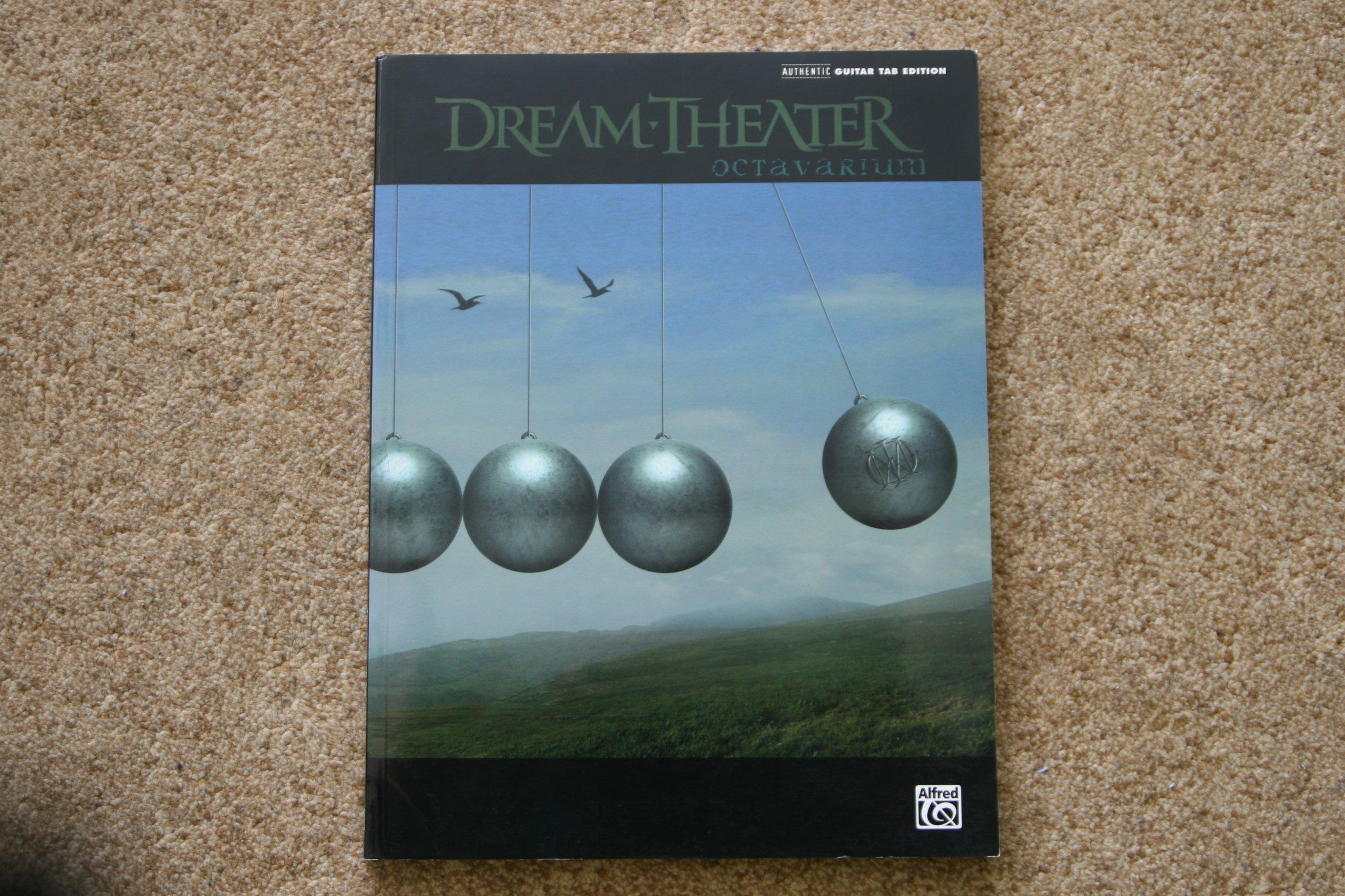 Dream Theater tabulatura gitara Octavarium