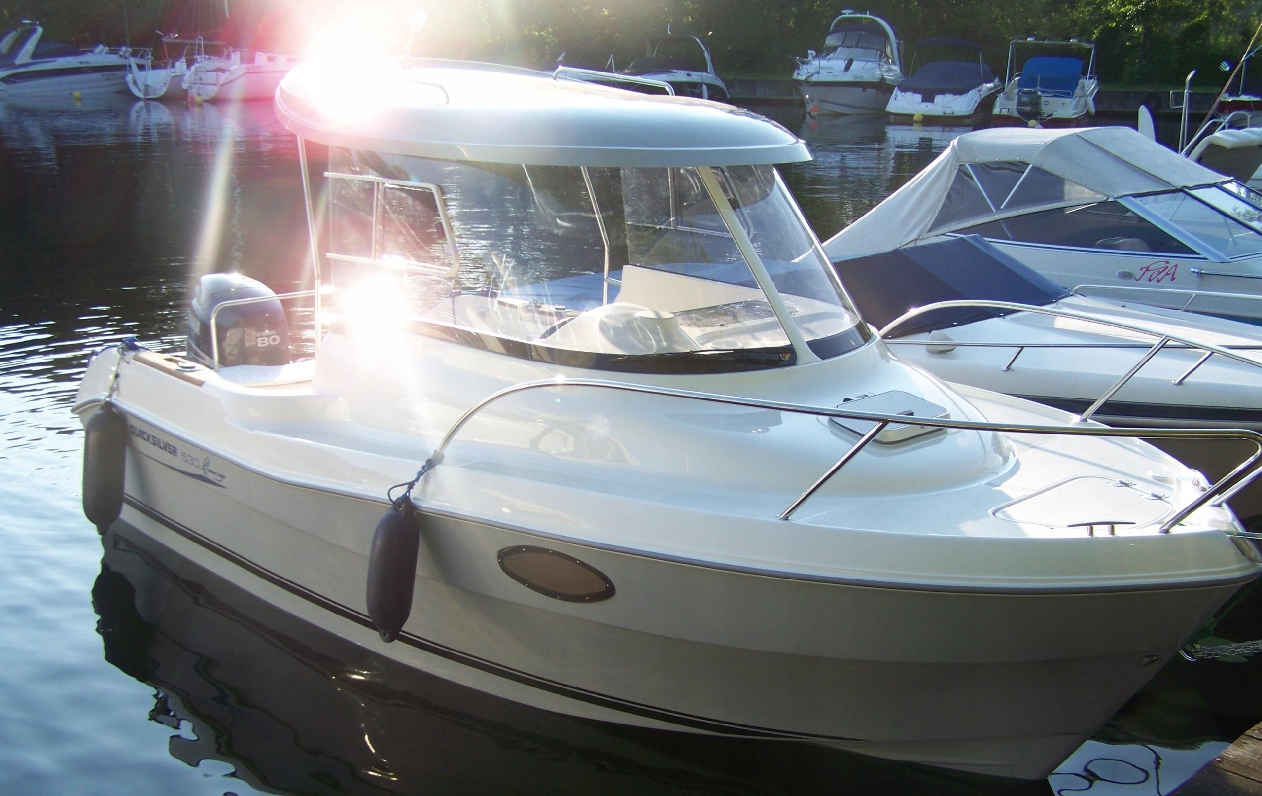 Jacht motorowy QUICKSILVER 530 flamingo