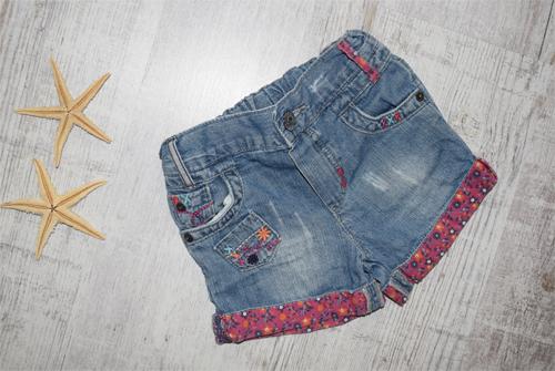 Śliczne Krótkie Spodenki Jeans CHEROKEE Rom. 98