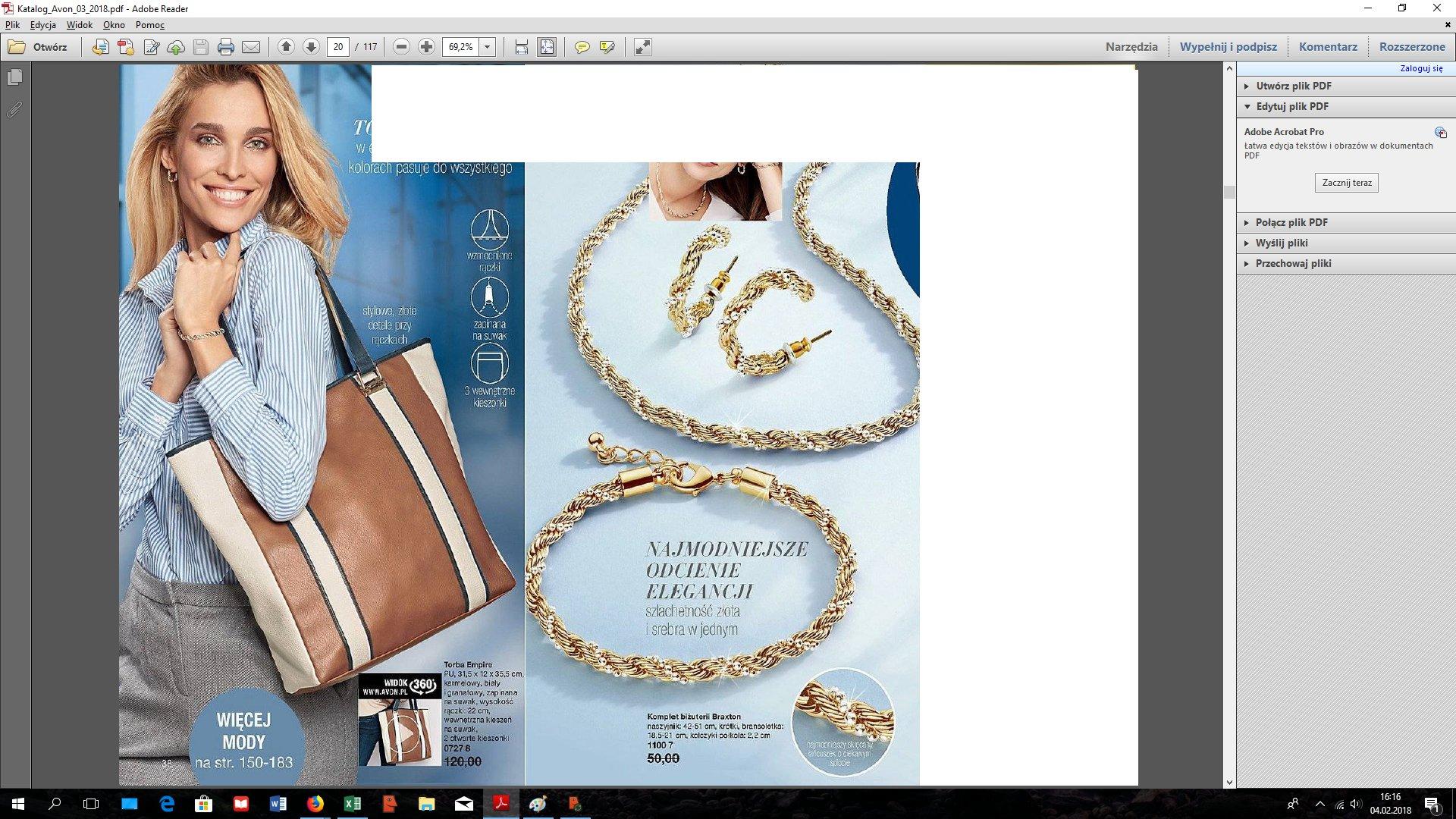 4c77e727891b90 Avon Komplet Biżuterii Braxton 7167978958 Oficjalne Archiwum