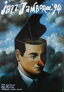 Plakat Rafał Olbiński Jazz Jamboree 94 7235096178