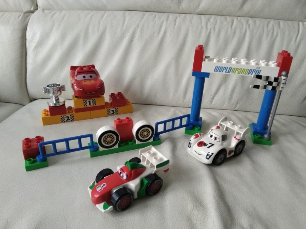 Lego Duplo Cars Auta Wyścigi World Grand Prix 5839 7109340125