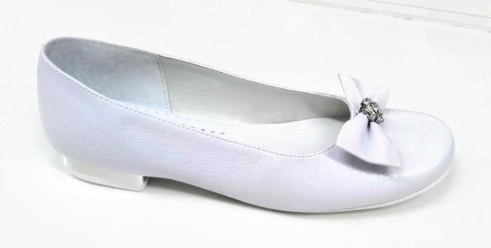 9b992cc439 Komunijne buty dziewczę skóra r31 balerinki MIKO - 7164734718 ...
