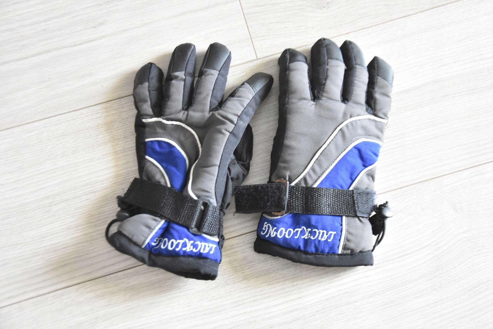 Rękawice narciarskie juniorskie rękawiczki 7-9 lat