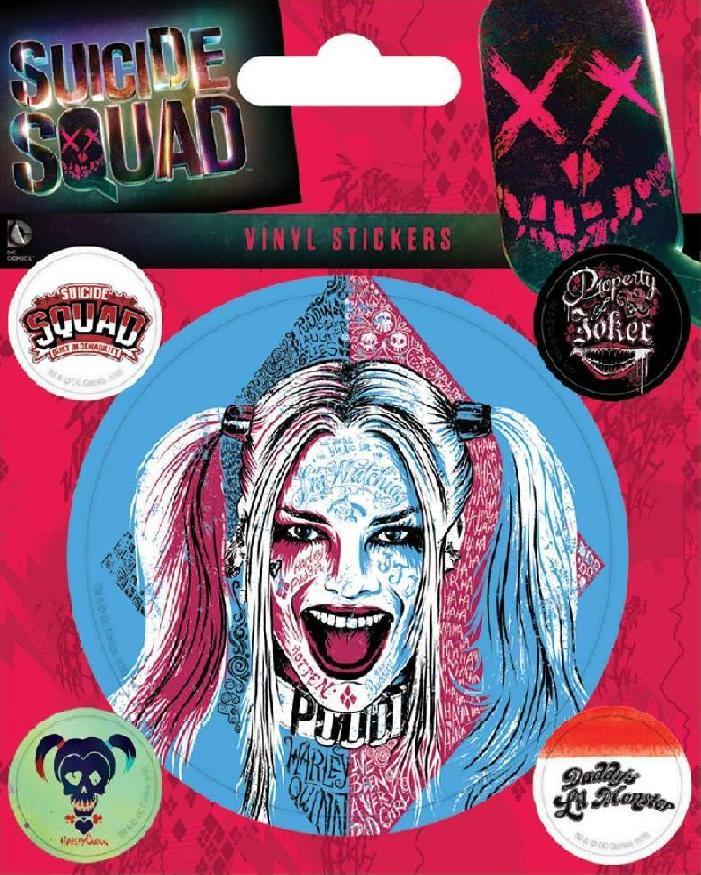 Suicide Squad Harley Quinn Naklejka 7014815766