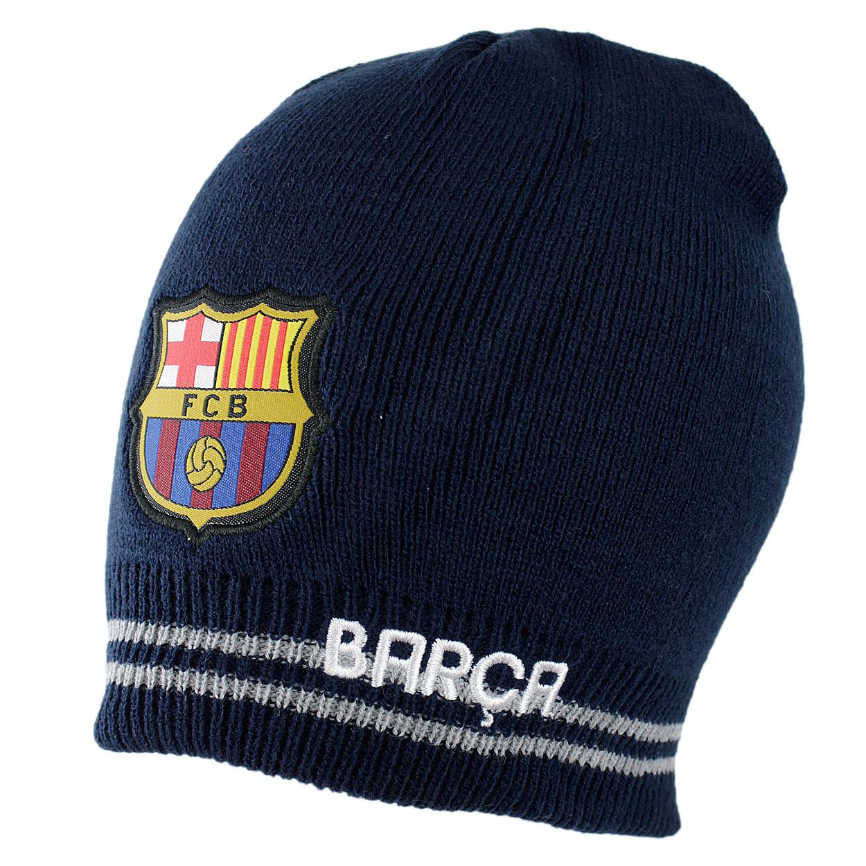 7ff9411df R:57 CZAPKA ZIMOWA FC BARCELONA AKRYL 100% - 7056066088 - oficjalne ...