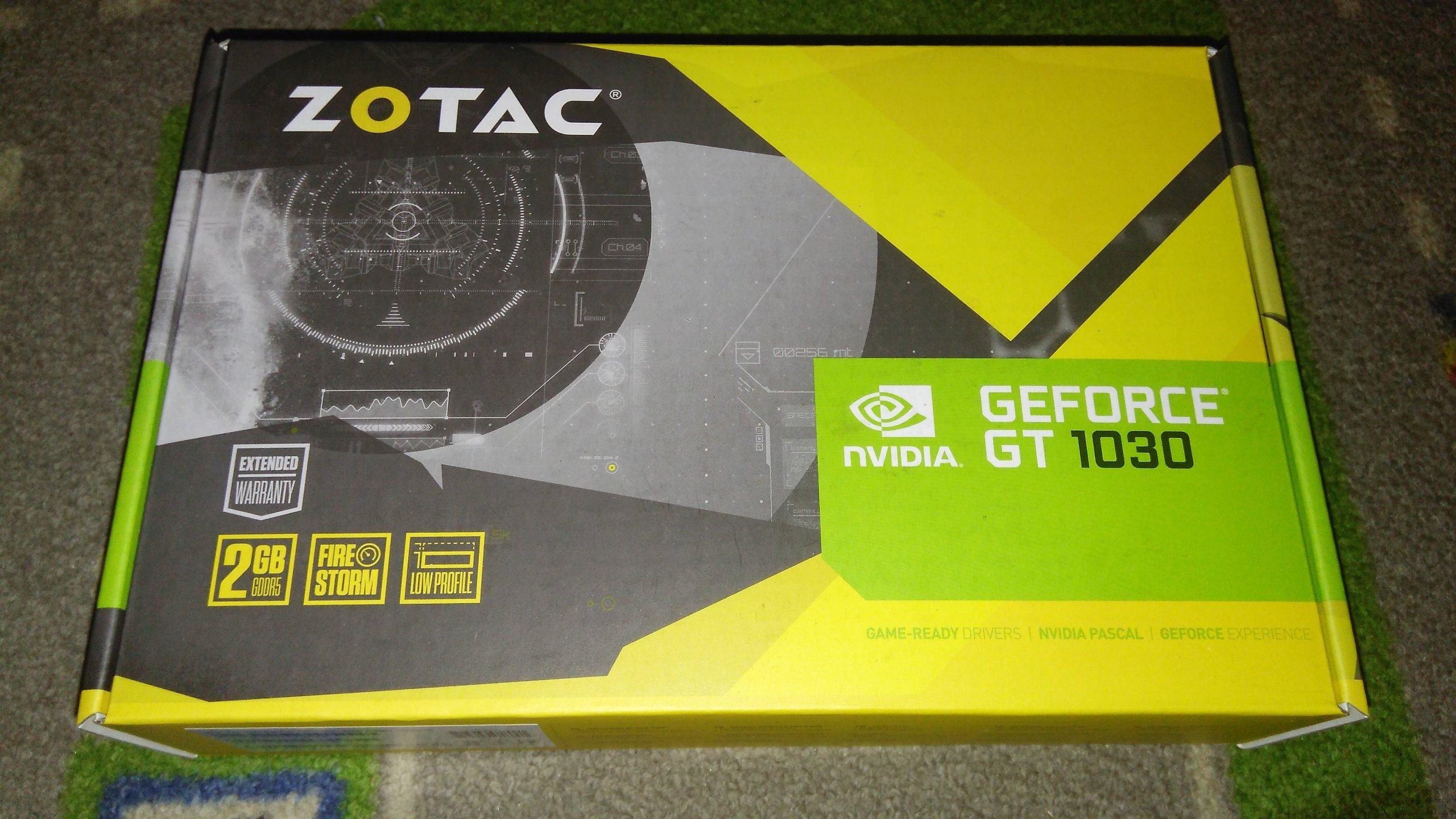 Karta Zotac Geforce Gt 1030 2gb Gddr5 Hdmi Vga 7185986237