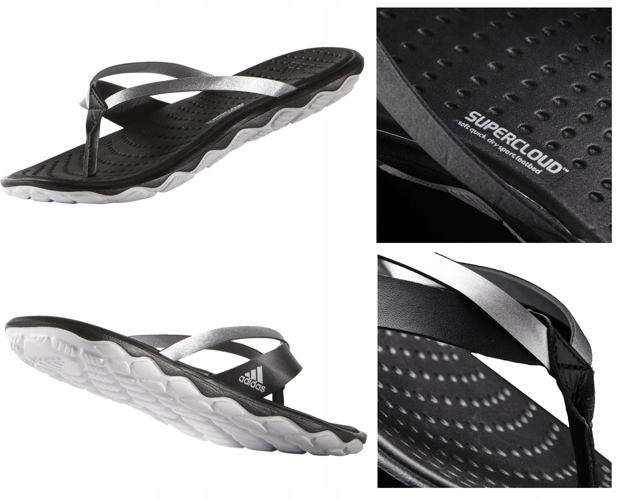 bcbdbb21b491d Adidas Borama SuperCloud Thong japonki damskie 37 - 7512753530 - oficjalne  archiwum allegro