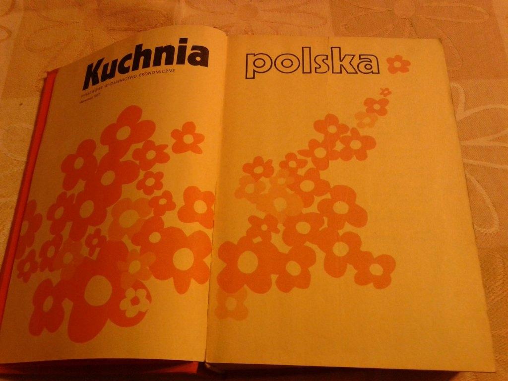 Kuchnia Polska Red Berger Stare Wydanie 1990
