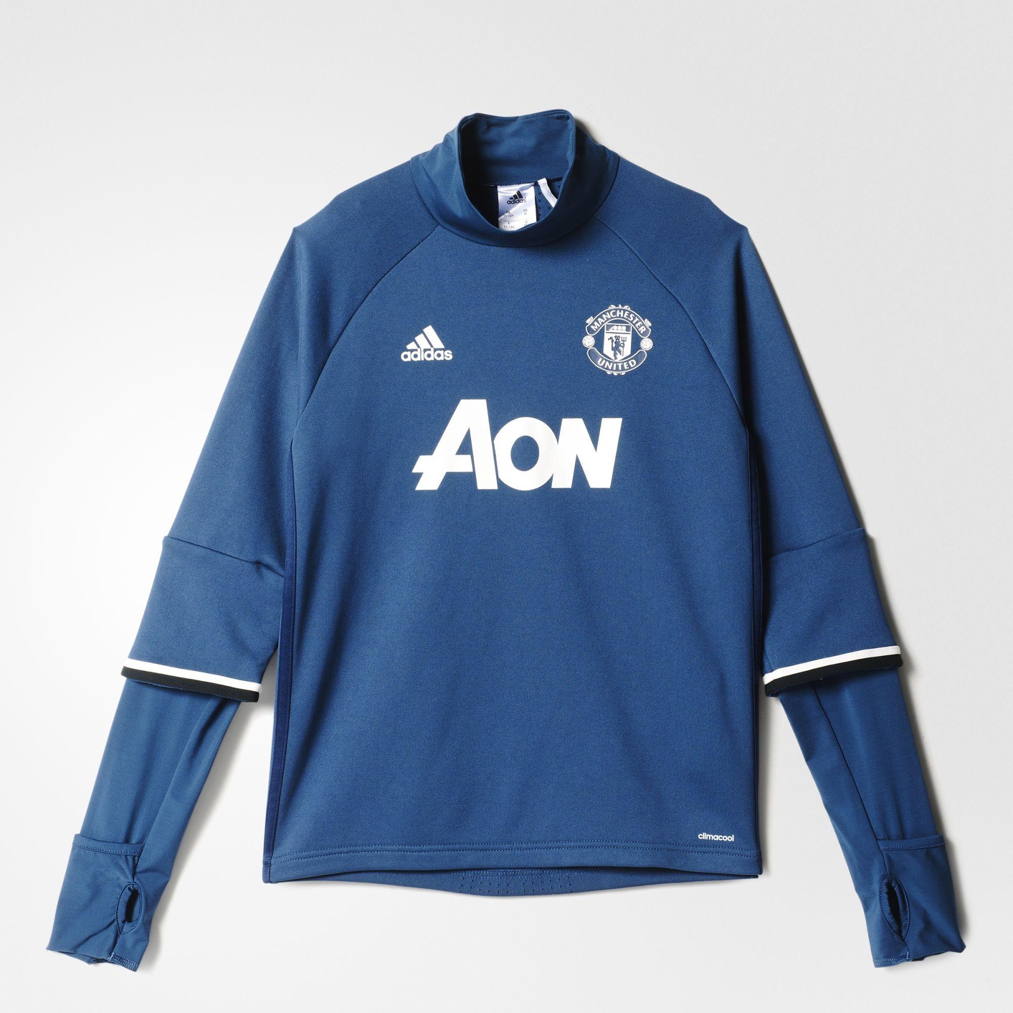 Bluza trening dziecięca adidas Manchester Utd 140