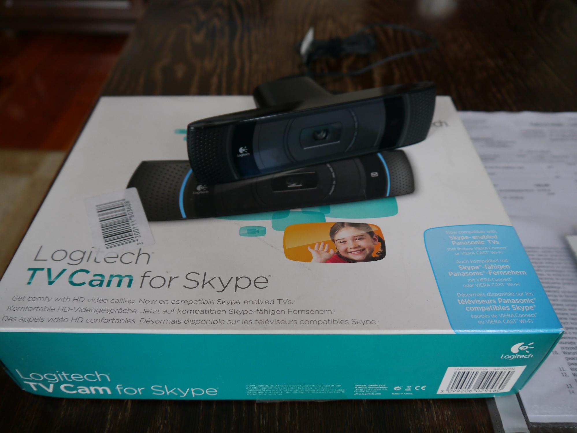 Logitech skype hd tv kamera - 7256093200 - oficjalne