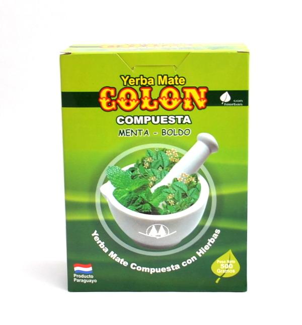 Yerba Mate Colon Menta Boldo - 250 g - Mięta