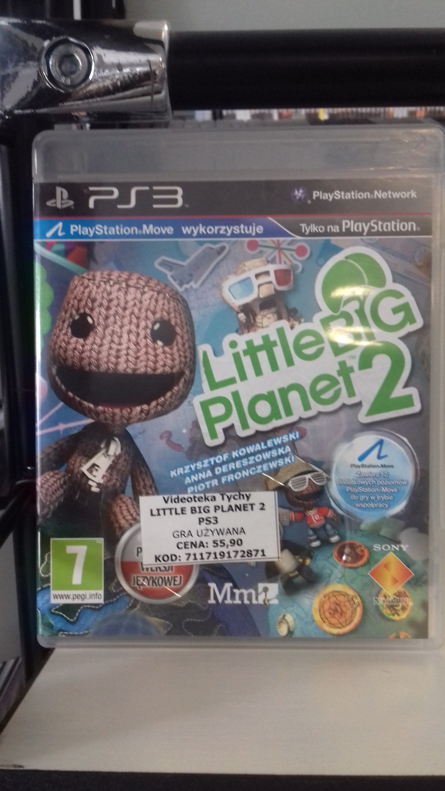 LITTLE BIG PLANET 2 SKLEP TYCHY