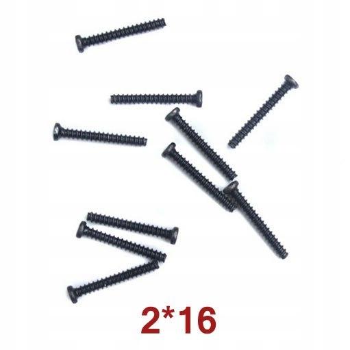 Round Head Self-Drilling Screw 2x16 Wl Toys A949-4