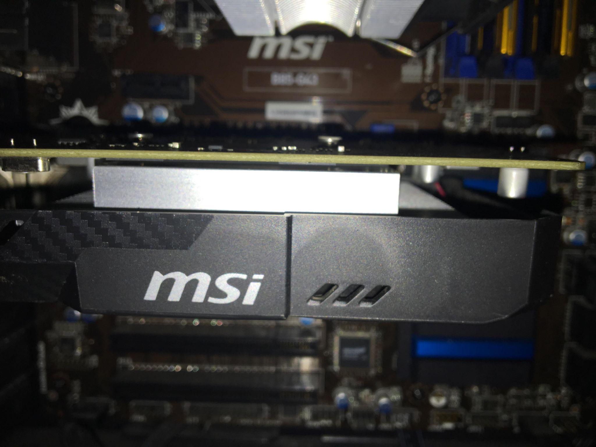 Karta Graficzna Msi Geforce Gtx 1050 Ti Aero Itx O 7151553662