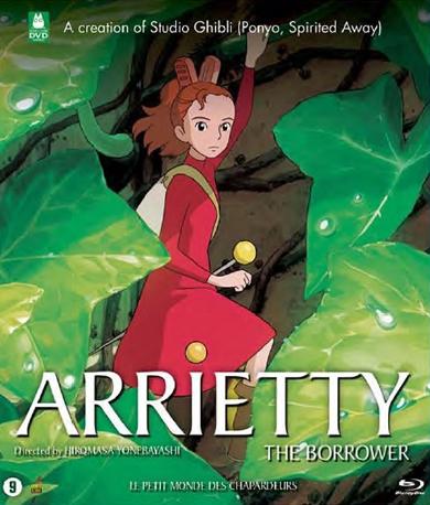 BLU-RAY Anime - Arrietty Bilingual // A Studio Ghi