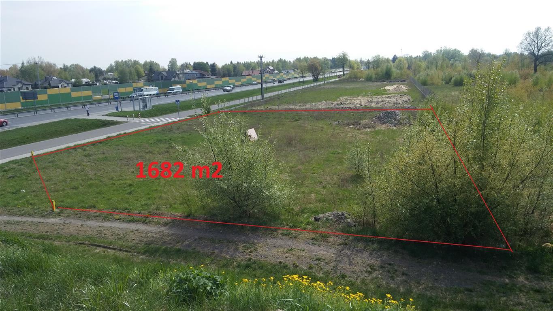 działka budowlana usługowa Serock DK61 Borowa Góra