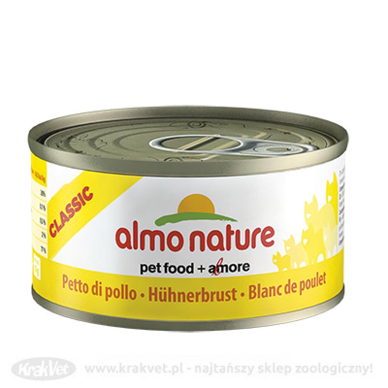 ALMO NATURE Filet z kurczaka - puszka 6x140g