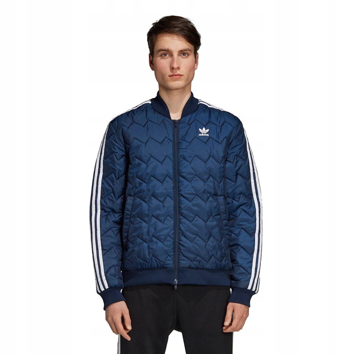 Najnowszy Adidas Originals Superstar Wiatrówka Męska