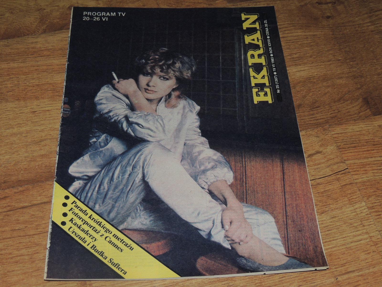 EKRAN 25/1983 Urszula, Marilyn Monroe Eric Clapton