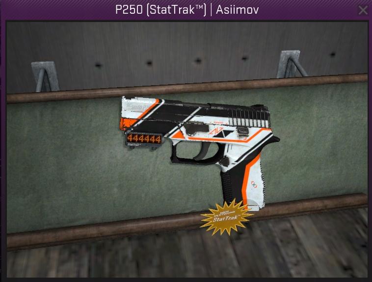 P250 ASIIMOV STATTRAK CS GO skin - 7500439233 - oficjalne