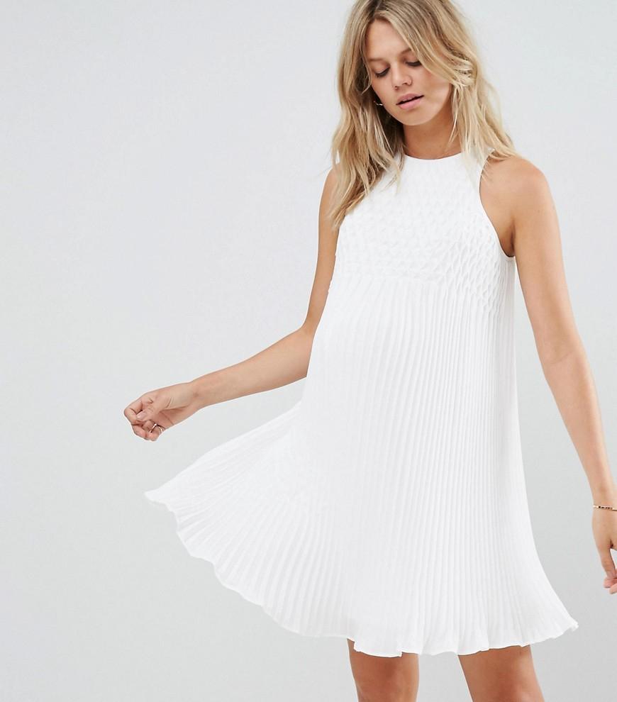cab4449b Sukienka ciążowa wesele ASOS maternity 42 xl - 7339170689 ...