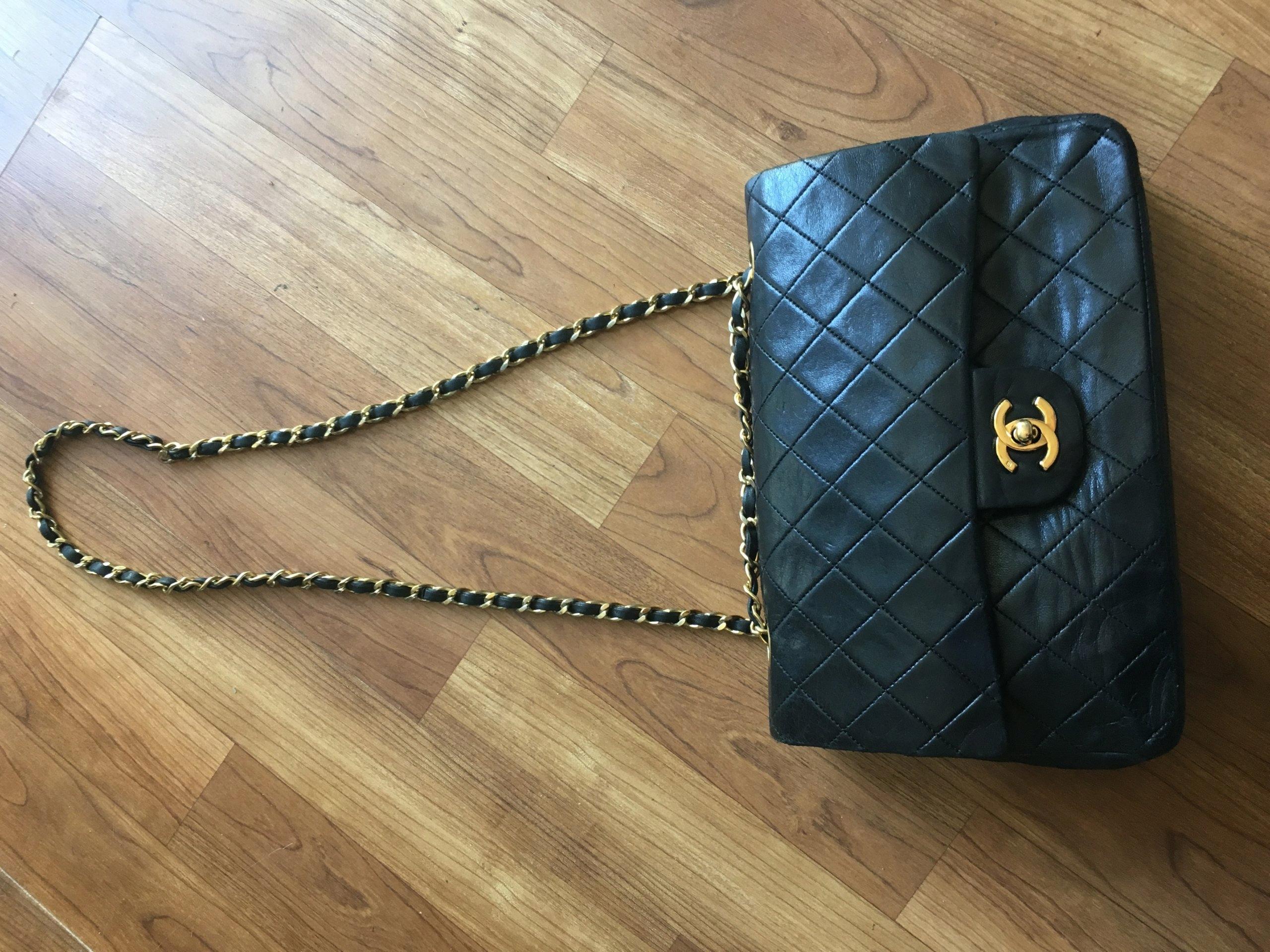 15fc4da1ac7f5 Chanel 2.55 double flap bag torebka klasyczna - 7507014664 ...