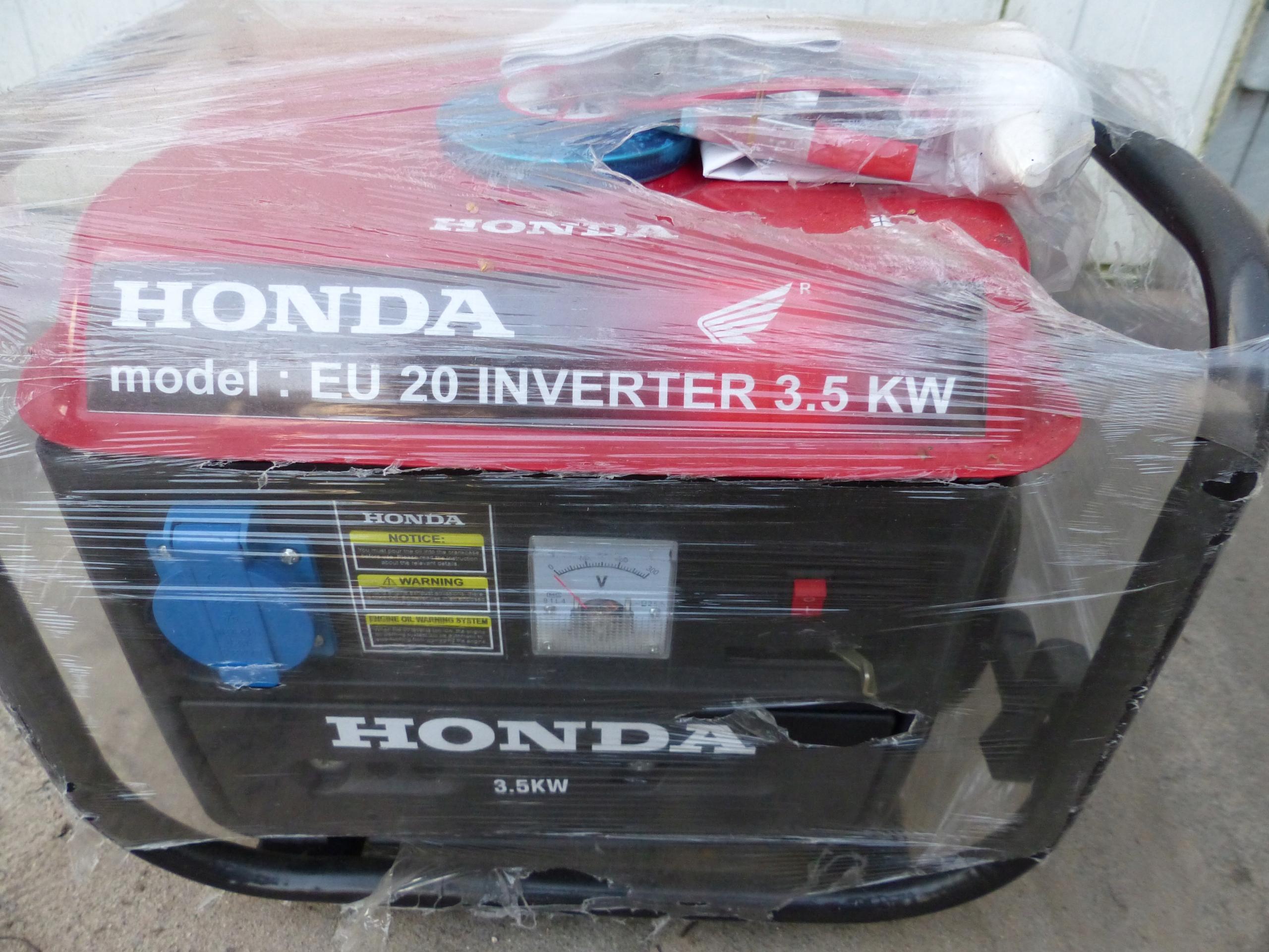 Chwalebne Agregat prądotwórczy HONDA EU 20 3,5 KW - 7509209975 - oficjalne HE25
