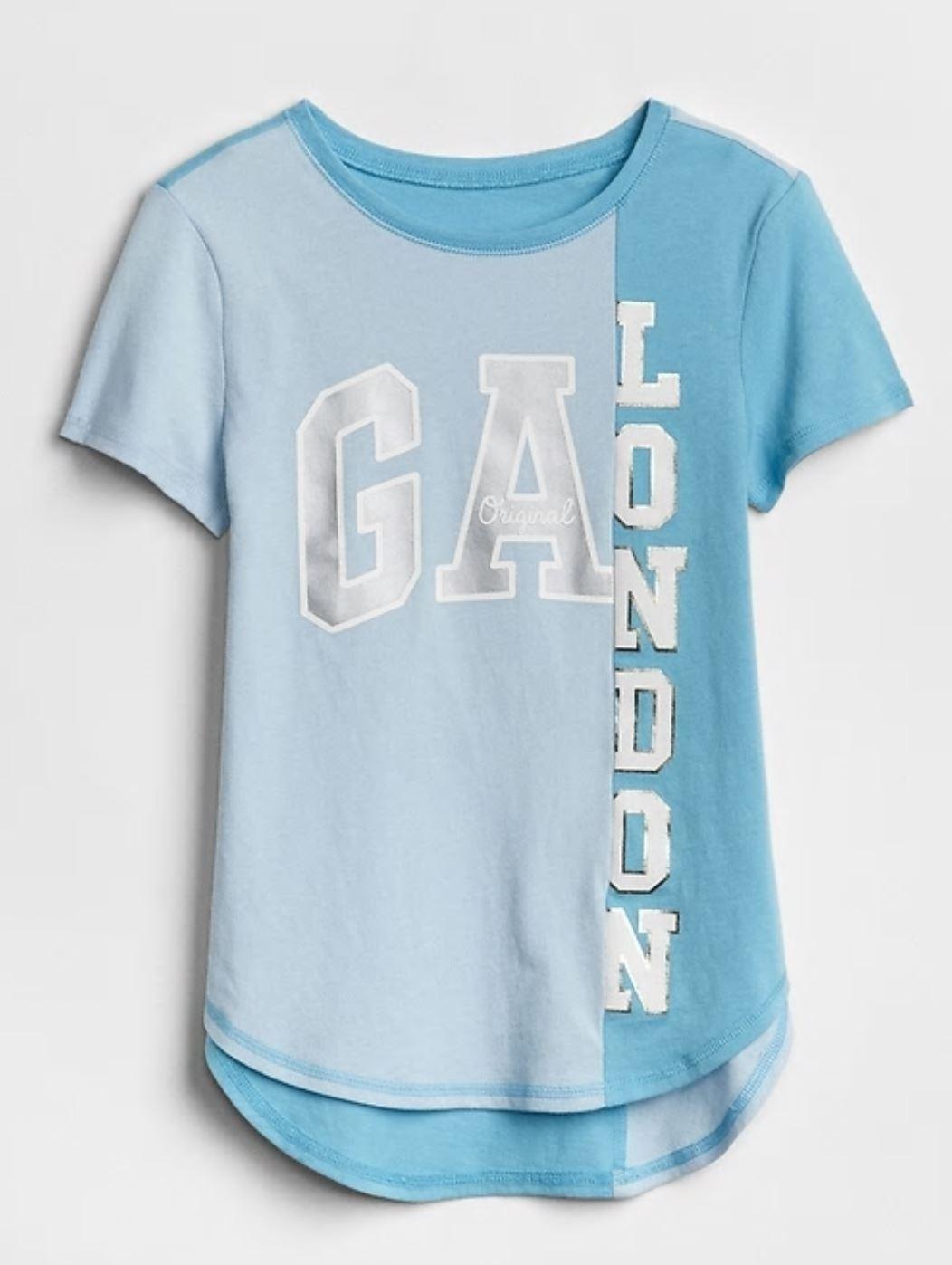 GAP Koszulka dla dziewczynki GAP LONDON L10lat