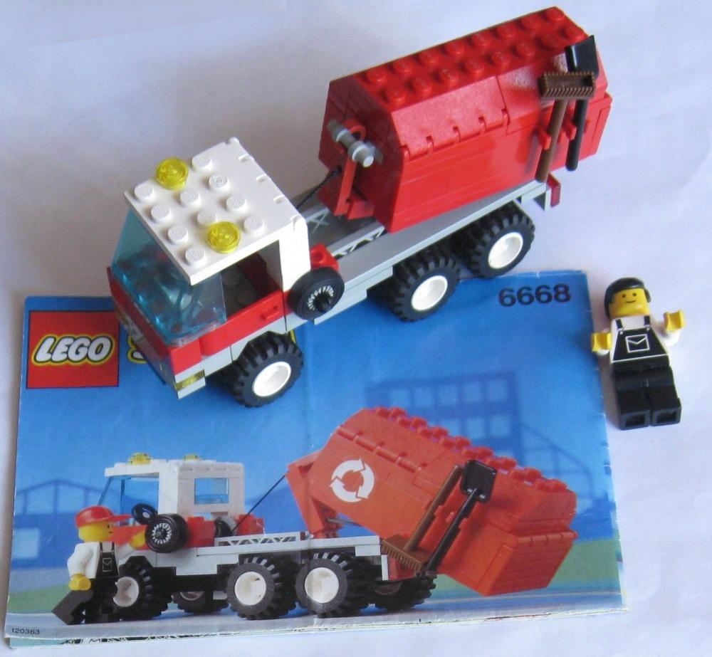 Lego śmieciarka 6668 Recycle Truck Instrukcja 7421176558
