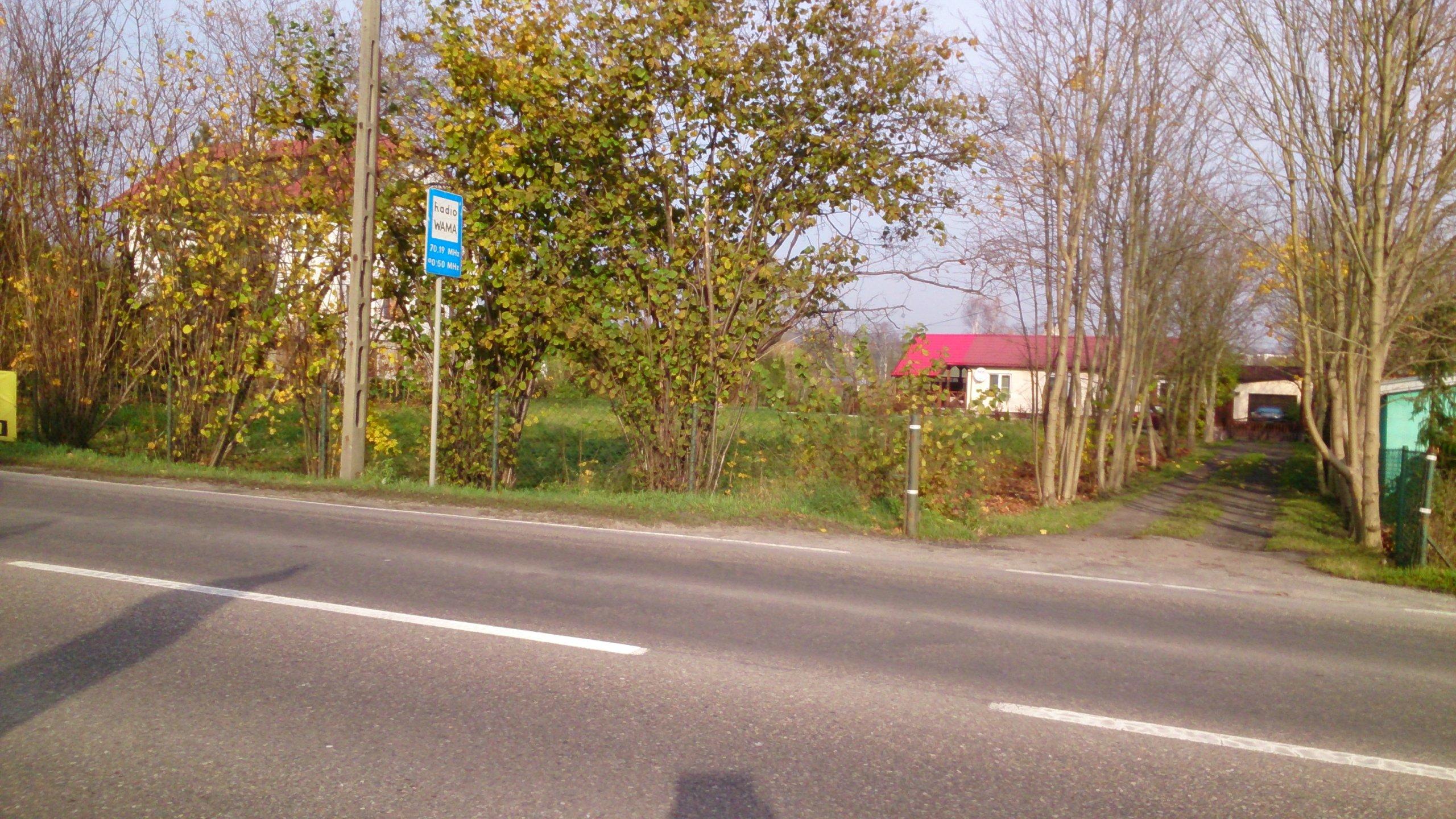 Działka przy drodze krajowej Nr 53 Olsztyn-Szczytn