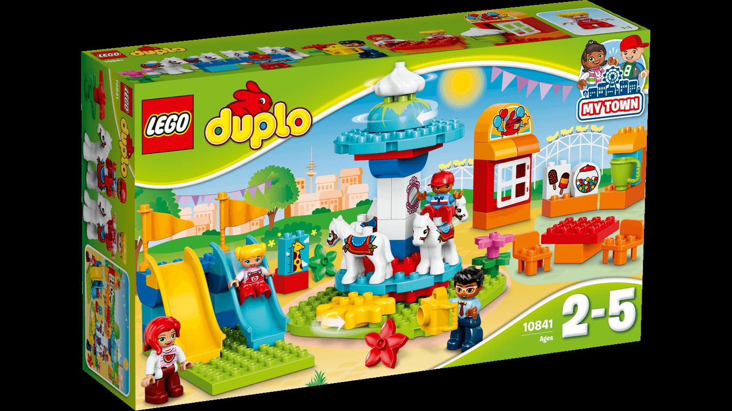 Klocki Lego Duplo 10841 Wesołe Miasteczko Kurier 7106552558