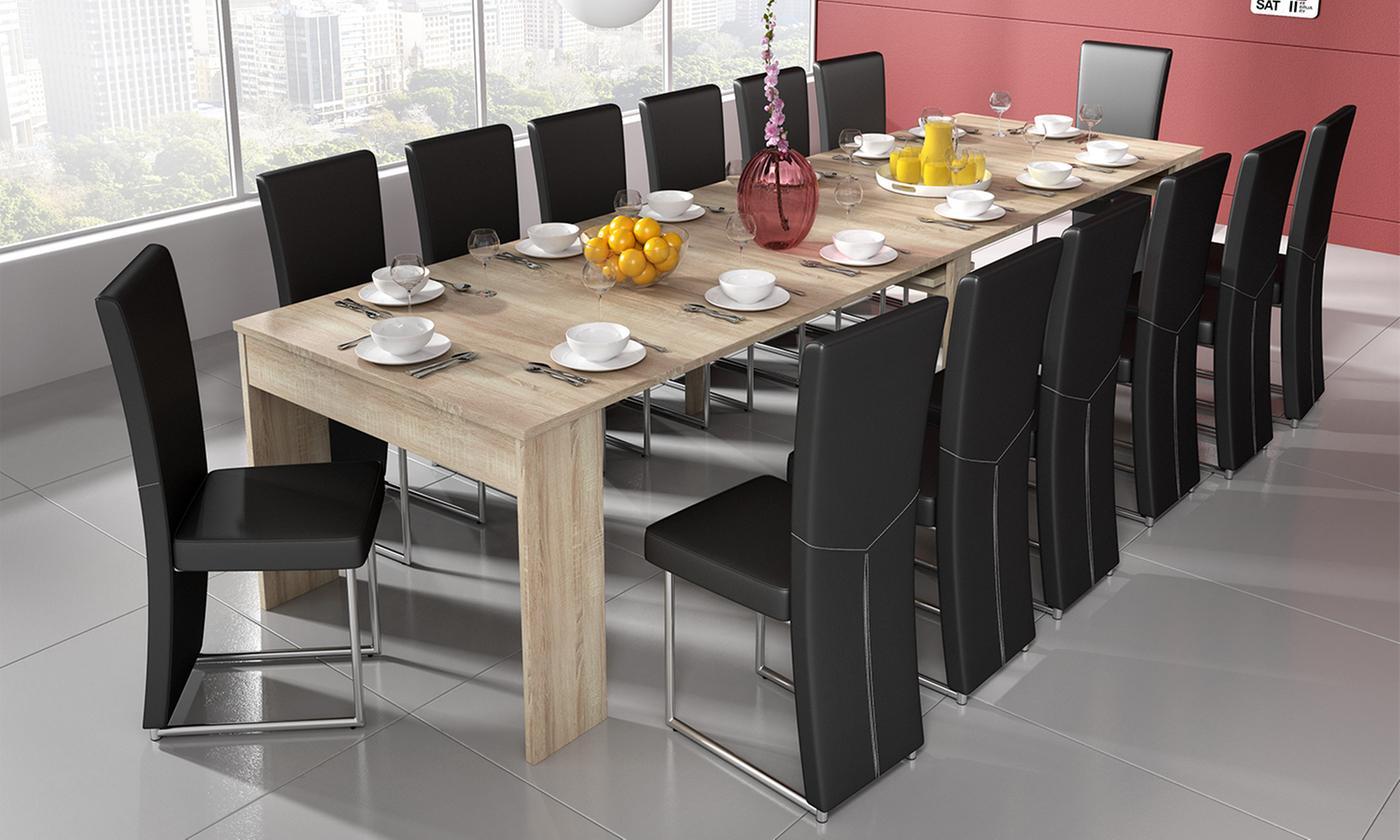 Duży Rozkładany Stół Do Jadalni Messa 3 Metr 7207677367