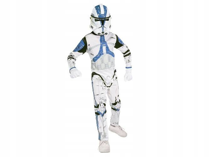 8b868d8e60aedf Kostium Clone Trooper strój star wars roz. 147cm - 7368977770 ...