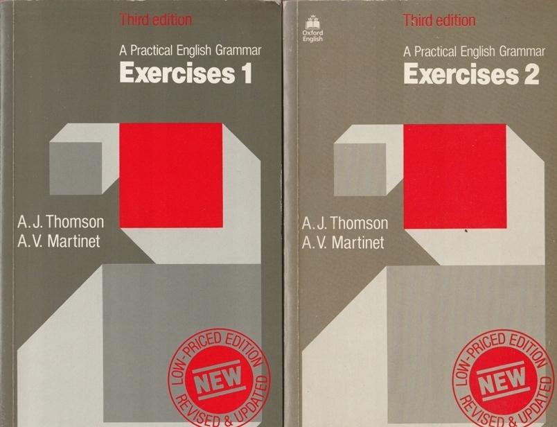 A Practical English Grammar Exercises 1-2 /SRL