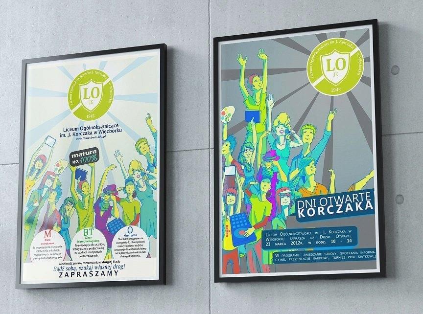 Plakaty Reklamowe B2 100 Sztuk 170 Gram Druk 6516984450