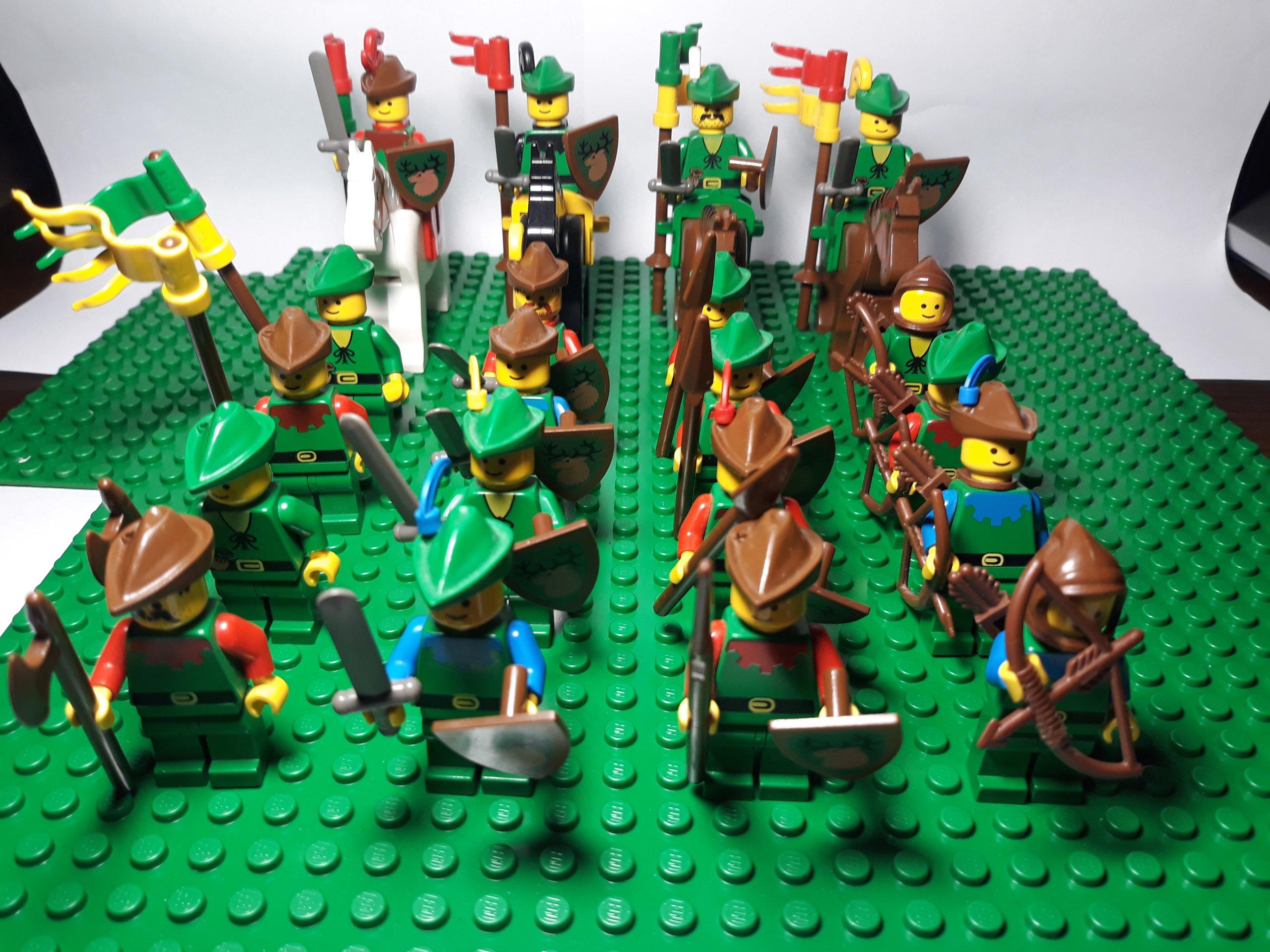 Lego Castle Zamek Rycerze Armia Forestmen 7133474444 Oficjalne