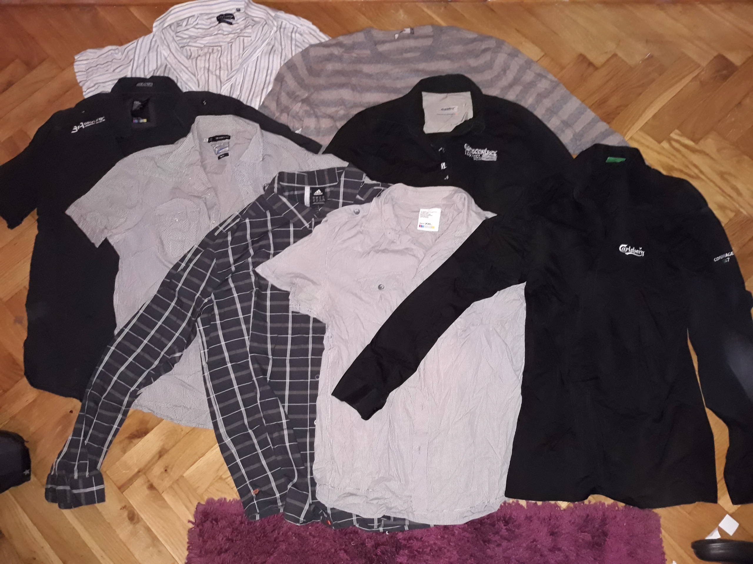Koszule męskie+sweter męski