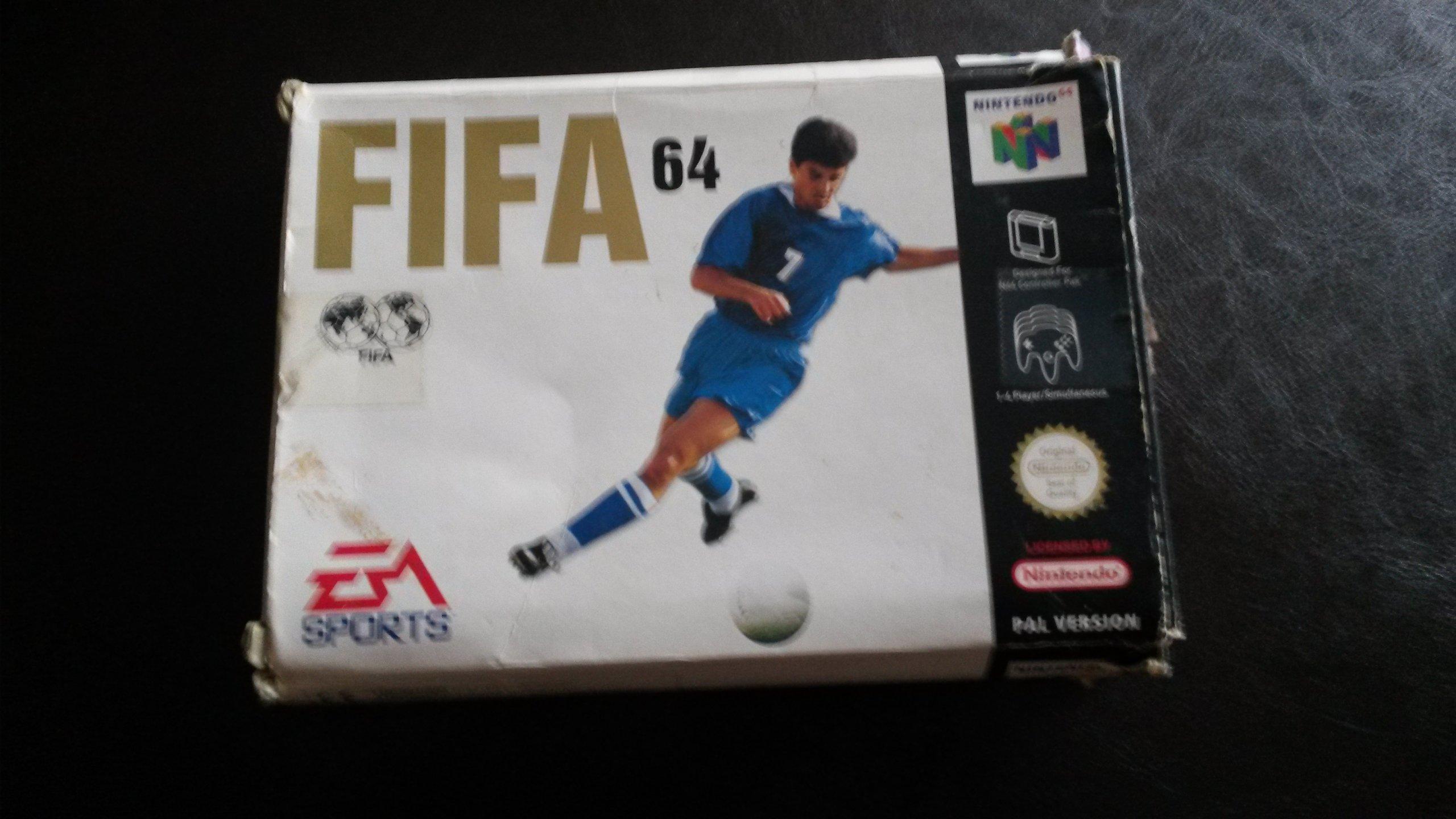 FIFA 64 = Nintendo 64