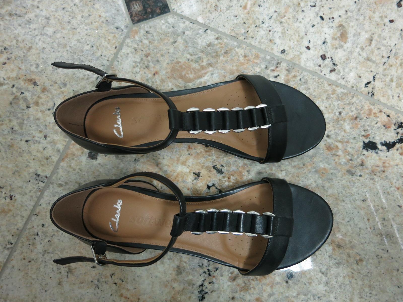 a627faeba897 Clarks Studio Beat Czarne sandały skóra nat. 37 - 7439558899 ...