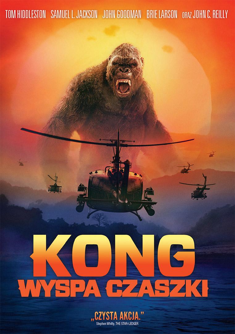 Kong: Wyspa Czaszki BLU-RAY