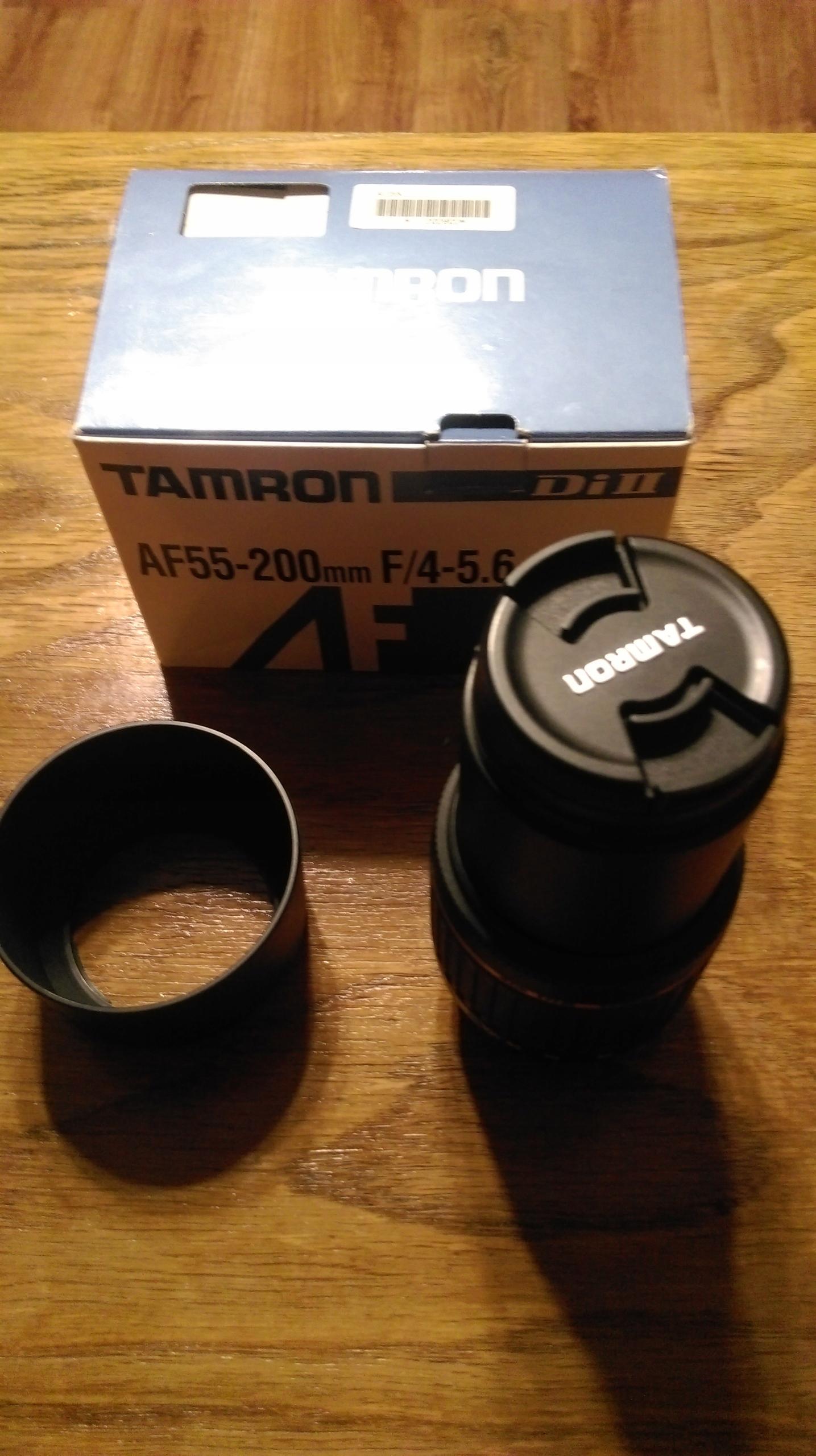Tamron AF 55-200 mm f/4-5.6 Di II LD Macro