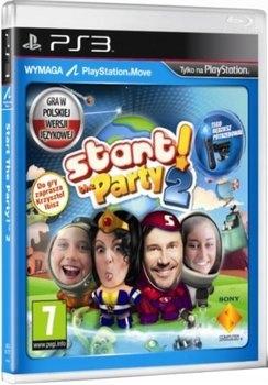 START THE PARTY 2 PS3 PL Gra move nowa FOLIA tanio