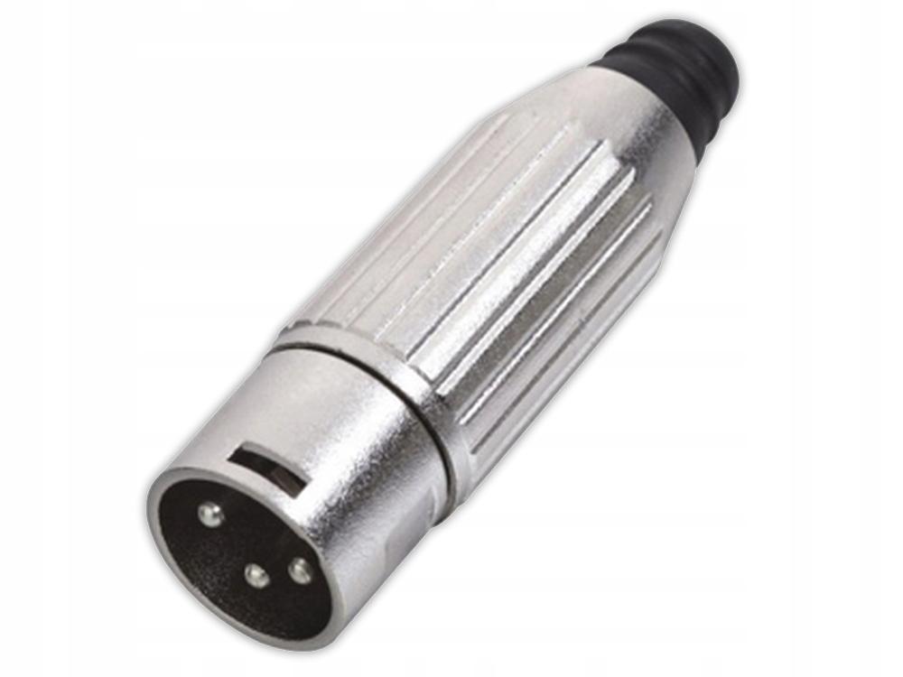 ZŁĄCZE XLR 3 PIN MĘSKE WTYK GNIAZDO XC-10281